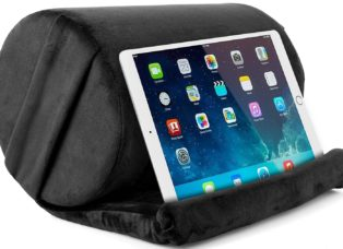 A Comfy Pillow for Your Legs or Your Tablet